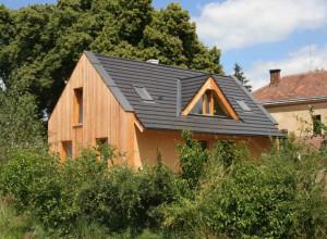 Rodinný dům z panelů Ecococon